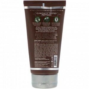 Petal Fresh, Hair ResQ, средство для повышения густоты волос, гель сильное фиксации «стиль+утолщение», 150 мл
