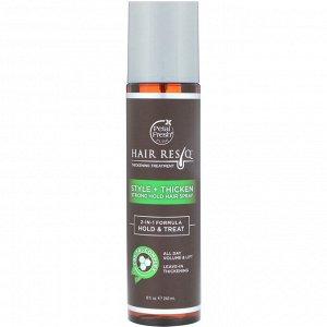 Petal Fresh, Hair ResQ, средство для повышения густоты волос, стиль+утолщение, гель сильной фиксации волос, 240 мл