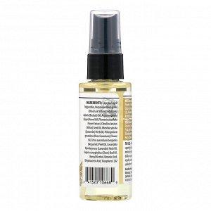 Alaffia, Восстановление и уход, спрей для волос с маслами аргании и баобаба, 59 мл (2 унции)