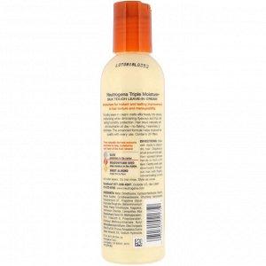 Neutrogena, Triple Moisture, несмываемый крем-спрей для волос Silk Touch, 6 ж. унц. (177 мл)