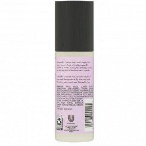 Love Beauty and Planet, Несмываемый выпрямляющий крем для волос Soothe & Serene, «Аргановое масло и лаванда», 118 мл