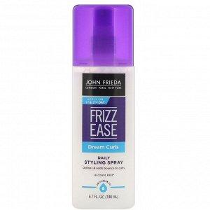 John Frieda, Спрей для ежедневной укладки Frizz Ease, Dream Curls, 198 мл