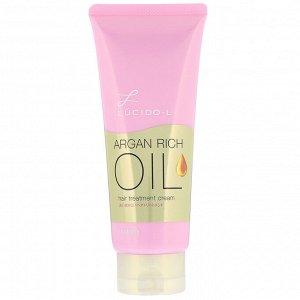 Mandom, Lucido-L, Argan Rich Oil, крем для ухода за волосами, 150 мл