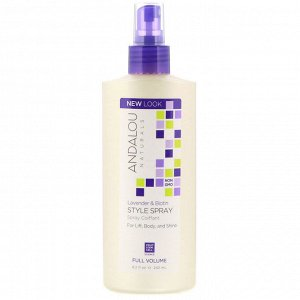 Andalou Naturals, Style Spray, Full Volume, Lavender & Biotin, 8.2 fl oz (242 ml)