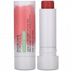 Physicians Formula, Organic Wear, Tinted Lip Treatment, Tickled Pink, 0.15 oz (4.3 g)