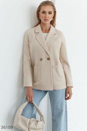 Кашемировое пальто-пиджак