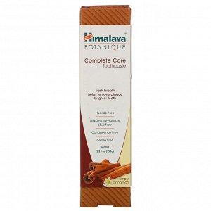 Himalaya, Зубная паста для полного ухода за зубами, Simply Cinnamon, 5,29 унций (150 г)
