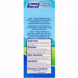 Orajel, Paw Patrol Training, зубная паста, не содержит фториды, фруктовый вкус, 1,5 унц. (42,5 г)