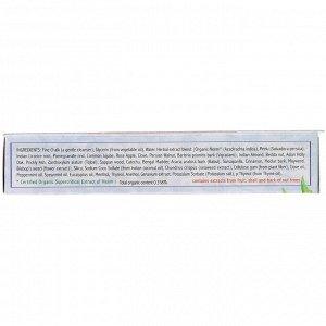 Auromere, Аюрведическая зубная паста на травах, классическая, 117 г (4,16 унции)