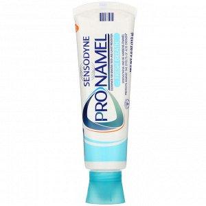 Sensodyne, ProNamel, зубная паста, «Свежее дыхание», волна свежести, 113 г