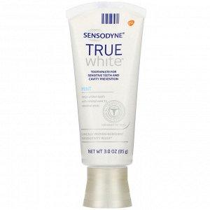 Sensodyne, True White Toothpaste, Mint, 3.0 oz (85 g)