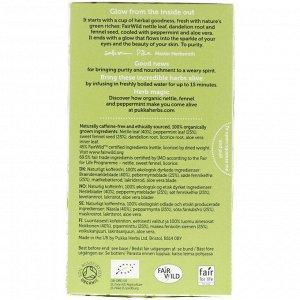 Pukka Herbs, Очищающий травяной чай, не содержащий кофеина, 20 пакетиков, 1,27 ун. (36 г)