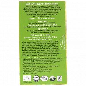 Pukka Herbs, Чай с куркумой, 20 пакетиков, 36г (1,27 унций)