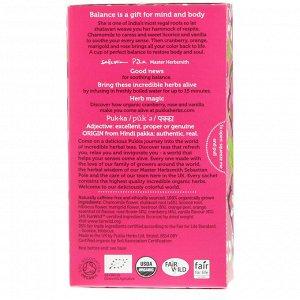 Pukka Herbs, Womankind, без кофеина, 20 пакетиков-саше с травяным чаем, 1,05 унц. (30 г)