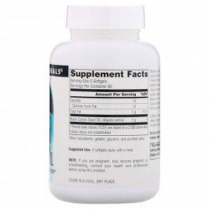 Source Naturals, Масло черного тмина, 120 мягких таблеток