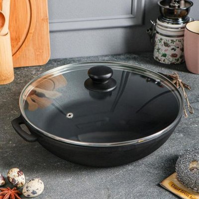 Посуда для дома на любой вкус — Жаровни чугунные — Казаны и сотейники