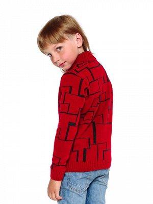 Кофта Количество в упаковке: 1; Артикул: ТРИ-579; Цвет: Красный; Ткань: Пряжа; Состав: 50% шерсть,50% акрил; Цвет: Красный Скачать таблицу размеров                                                 Коф