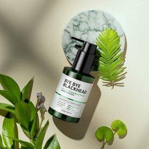 Some by mi 30 Days Miracle Green Tea Tox Bubble Cleanser  Кислородное очищающее средство против чёрных точек 120 гр
