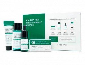 Some by mi AHA/BHA/PHA 30 Days Miracle Starter Kit Набор для проблемной кожи с кислотами