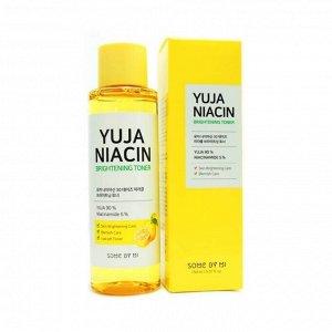 Some by mi Yuja Niacin Brightening Toner Осветляющий витаминный тонер с экстрактом юдзу150мл