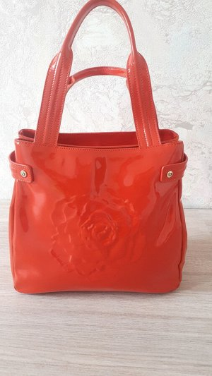 СКИДКА!!! Новая итальянская очень красивая сумка кораллового цвета