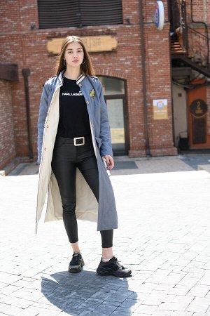 Пальто blue/gray