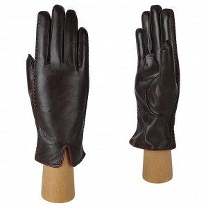 Перчатки, натуральная кожа, Fabretti 12.66-2