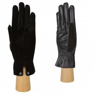 Перчатки, кожа, FABRETTI B5-1 black