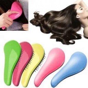 Расческа цена за 1шт. Расческа массажная для распутывания завитых волос  создана для бережного распутывания вьющихся, выпрямленных и непослушных волос. Особенно подходит для ухода за тонкими и хрупким