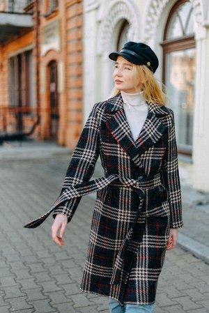 Пальто classic gray/клетка