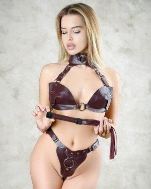 Плеть из натуральной кожи цвета бордо BDSM Арсенал