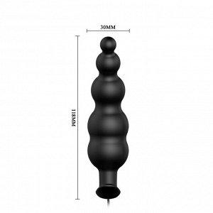 Рельефный анальный стимулятор Special Anal Stimulation (12 режимов)