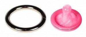 Стальное эрекционное кольцо Steel Cock Ring 1,3''