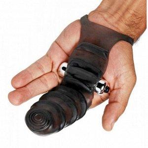 Насадка на руку для стимуляции точки G с вибрацией Master Series