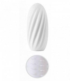 Многоразовый супер эластичный мини мастурбатор Svakom HEDY White