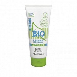 Органический увлажняющий гель на водной основе HOT Bio Superglide (100 мл)
