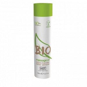Массажное масло HOT BIO Massage Oil Bitter Almond с миндальным маслом (100 мл)