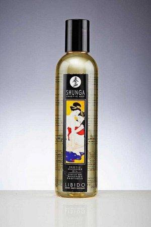 Возбуждающее массажное масло Shunga LIBIDO (экзотические фрукты, 240 мл)