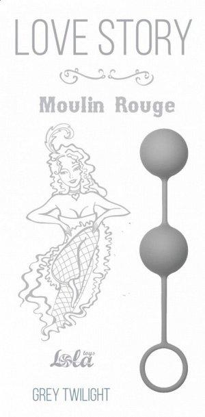 Шарики в силиконовой оболочке для тренировки мышц Moulin Rouge Grey Twilight