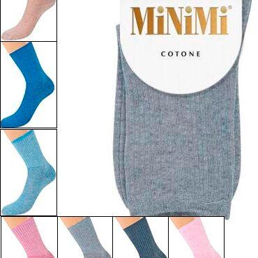 😍Огромный выбор чулок, колготок, носков м/ж. Акция - 70% ! — Женские носки,гольфины Minimi. — Носки
