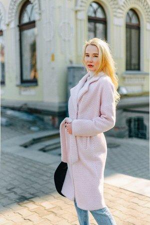 "Пальто в цвете ""пудра"""