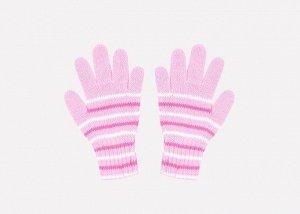 Перчатки детские Crockid К 145 нежно-розовый, ярко-розовый