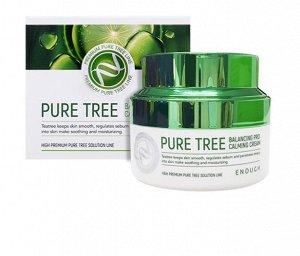 Крем с экстрактом чайного дерева Pure Tree Balancing Pro Calming Cream