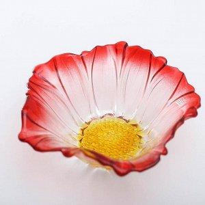 Салатник «Красный цветок», 550 мл, 19,5?8 см