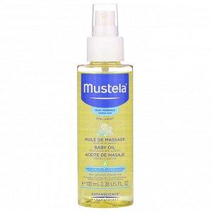 Mustela, Baby Oil, 3.38 fl oz (100 ml)