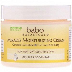Babo Botanicals, Miracle, увлажняющий крем, 57 г (2 унции)