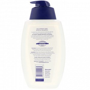 Aquaphor, Для детей, гель и шампунь, не содержит отдушек, 25,4 ж. унц.(750 мл)