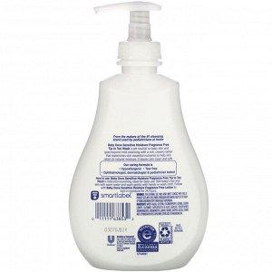 Dove, Увлажняющее средство для купания Baby, Tip to Toe Wash, для чувствительной кожи, 384 мл