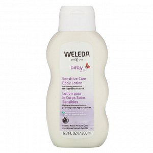 Weleda, Baby, Sensitive Care Body Lotion, White Mallow Extracts, 6.8 fl oz (200 ml)