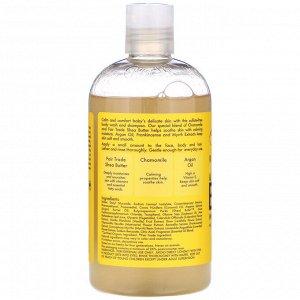 SheaMoisture, Детское мыло и шампунь, с маслом босвеллия и с миррой, 13 жид.унц. (384 мл)